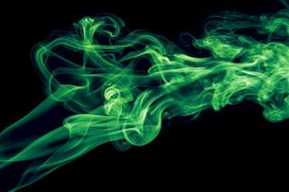 fumaça de cor