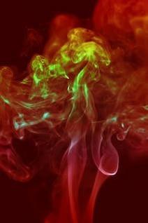 fumar cheiro colorido