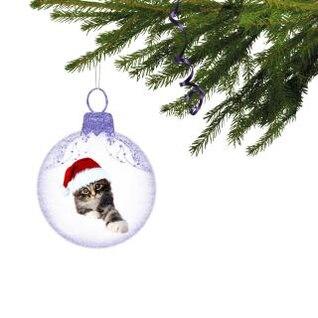 ornamento do Natal gatinho