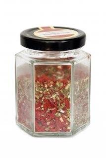ervas em uma jarra