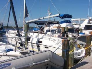 velejar porto de barco