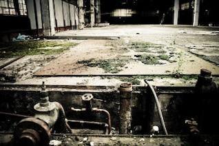 fábrica abandonada crescente
