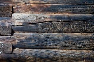 textura de madeira queimada