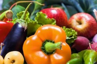 legumes frescos refeição