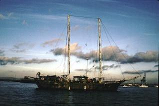 barco de vela de idade