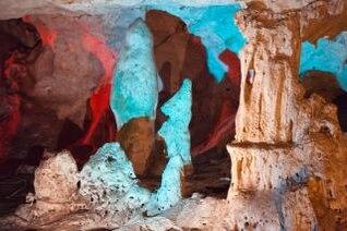 caverna áspera