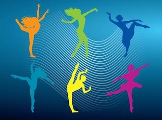 vetores ballet