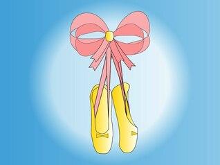 desenhos animados de um sapatos de dança