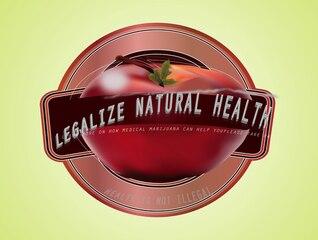 Maconha medicinal saudável de frutas maçã