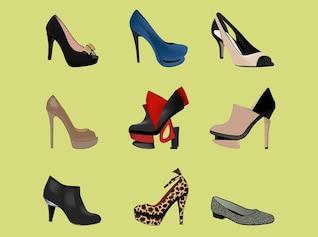 Salto alto fashion girl calçados