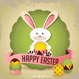 Easter da arte do vetor de coelho