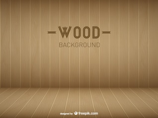 Modelo de sala de madeira