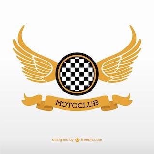 Logotipo motoclub vetor