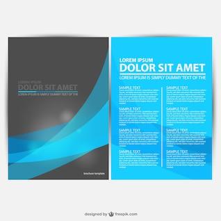 Gráficos brochura vetor download gratuito