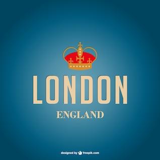 London cartaz vetor