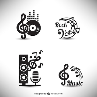 Elementos gráficos de música