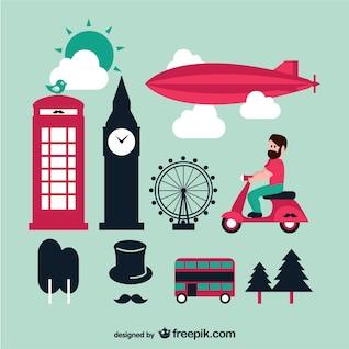 Londres gráficos vetoriais definir