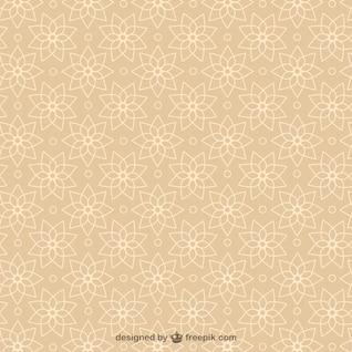 Vetor arabesco abstrato