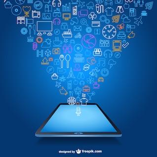 Mobile app modelo livre