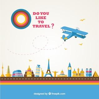 Template turismo