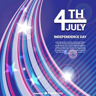 Dia da Independência do vetor livre