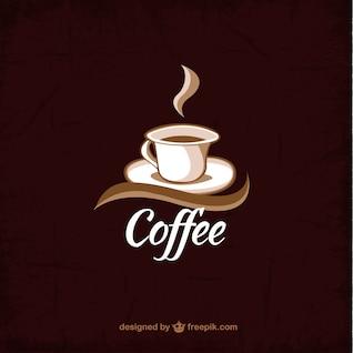 Xícara de café fundo