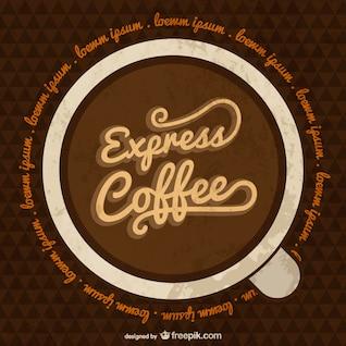 Template café expresso