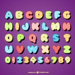 vector projeto de letra