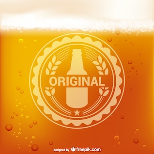 Logotipo da cerveja vector