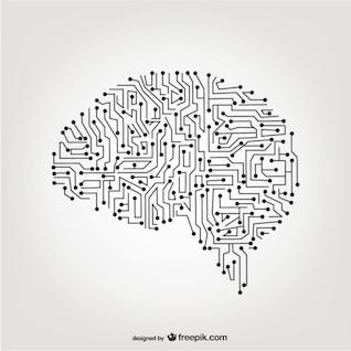 Vector cérebro artificial