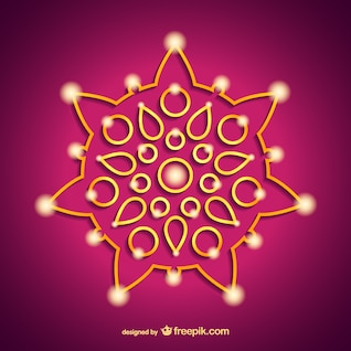 Índia Diwali ornamento
