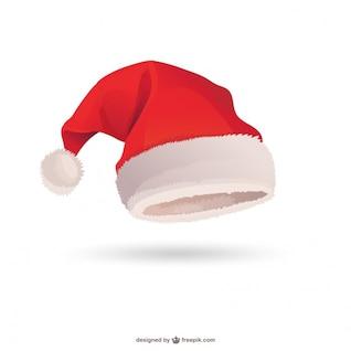 Chapéu de Papai Noel vector