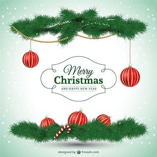 Feliz Natal elegante