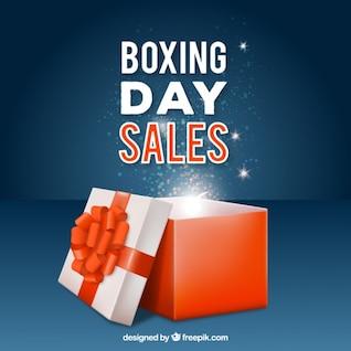 Boxing Day venda vector