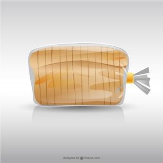 Saco de pão ilustração
