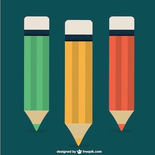 Lápis de cor vector