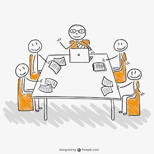 Reunião da equipe