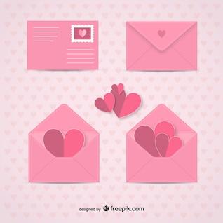 Envelopes Dia dos Namorados