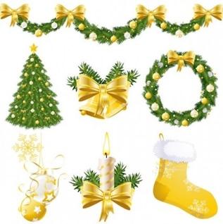 vetor livre forma ornamental Natal