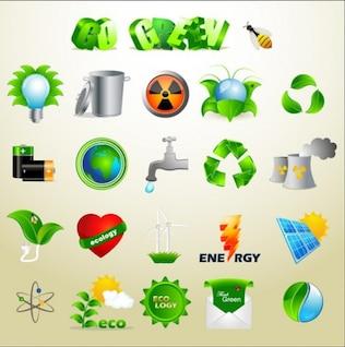 ícones da natureza