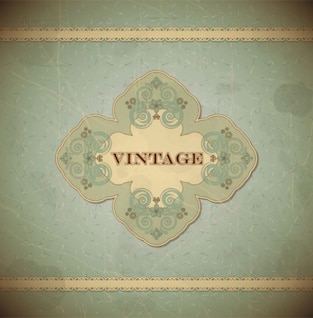 Vintage e floral estilo do scrapbook rendas