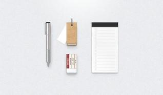 papelão borracha engrenagem notebook caneta psd ui