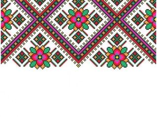 Escandinavo tricô padrões background vector set