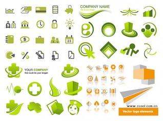 conjuntos de material gráfico vetor ícone simples