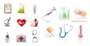 médico material de vetor ícone