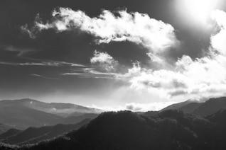 Colinas nublados