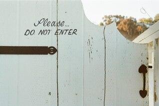 Por favor, não insira
