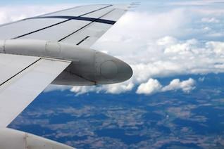 A visão do avião