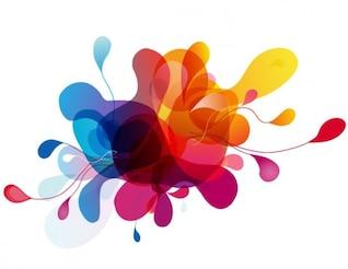 colorido vetor projeto bolhas