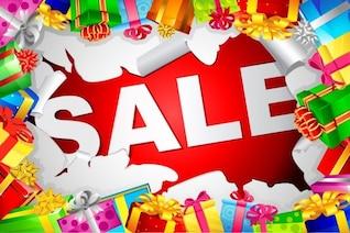 Natal ilustração vetorial venda